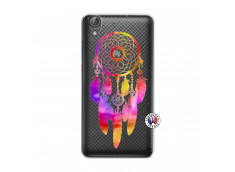 Coque Huawei Y6 2 Dreamcatcher Rainbow Feathers