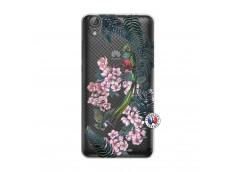 Coque Huawei Y6 2 Flower Birds