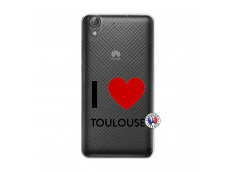 Coque Huawei Y6 2 I Love Toulouse