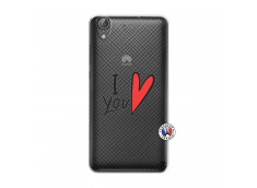 Coque Huawei Y6 2 I Love You