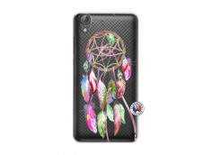 Coque Huawei Y6 2 Pink Painted Dreamcatcher