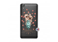 Coque Huawei Y6 2 Puppies Love