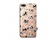 Coque Huawei Y6 PRO 2017 Cow Pattern