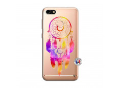 Coque Huawei Y6 PRO 2017 Dreamcatcher Rainbow Feathers