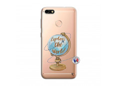 Coque Huawei Y6 PRO 2017 Globe Trotter