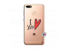 Coque Huawei Y6 PRO 2017 I Love You