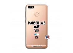 Coque Huawei Y6 PRO 2017 Marseillais à Vie