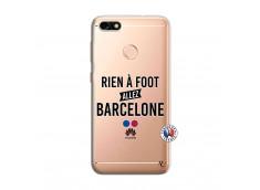 Coque Huawei Y6 PRO 2017 Rien A Foot Allez Barcelone