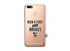 Coque Huawei Y6 PRO 2017 Rien A Foot Allez Bruges