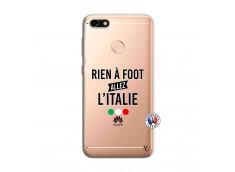 Coque Huawei Y6 PRO 2017 Rien A Foot Allez L'Italie