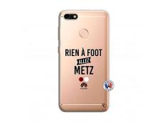 Coque Huawei Y6 PRO 2017 Rien A Foot Allez Metz