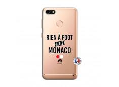 Coque Huawei Y6 PRO 2017 Rien A Foot Allez Monaco