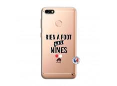 Coque Huawei Y6 PRO 2017 Rien A Foot Allez Nimes