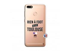 Coque Huawei Y6 PRO 2017 Rien A Foot Allez Toulouse