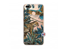 Coque Huawei Y6 PRO 2017 Leopard Jungle
