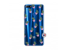 Coque Huawei Y7 2018 Cactus Pattern