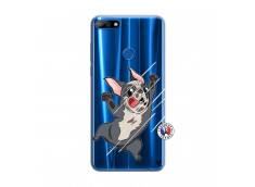 Coque Huawei Y7 2018 Dog Impact