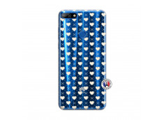 Coque Huawei Y7 2018 Little Hearts