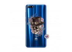 Coque Huawei Y7 2018 Dandy Skull