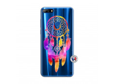 Coque Huawei Y7 2018 Dreamcatcher Rainbow Feathers