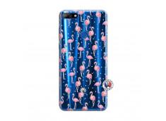Coque Huawei Y7 2018 Flamingo
