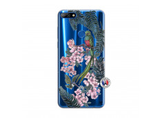 Coque Huawei Y7 2018 Flower Birds