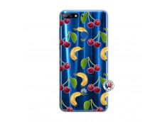 Coque Huawei Y7 2018 Hey Cherry, j'ai la Banane