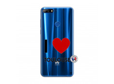 Coque Huawei Y7 2018 I Love Toulouse