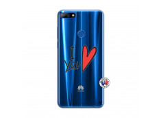 Coque Huawei Y7 2018 I Love You