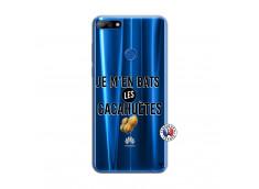 Coque Huawei Y7 2018 Je M En Bas Les Cacahuetes
