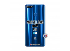 Coque Huawei Y7 2018 Marseillais à Vie