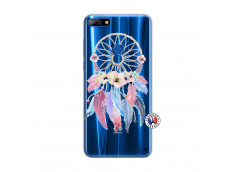 Coque Huawei Y7 2018 Multicolor Watercolor Floral Dreamcatcher