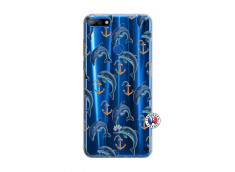 Coque Huawei Y7 2018 Dauphins