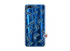 Coque Huawei Y7 2018 Dolphins