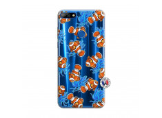 Coque Huawei Y7 2018 Poisson Clown