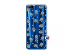 Coque Huawei Y7 2018 Petits Hippos