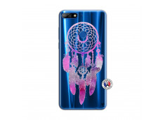 Coque Huawei Y7 2018 Purple Dreamcatcher