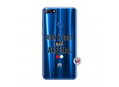 Coque Huawei Y7 2018 Rien A Foot Allez Arsenal