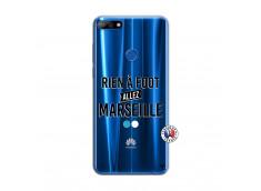 Coque Huawei Y7 2018 Rien A Foot Allez Marseille