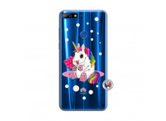 Coque Huawei Y7 2018 Sweet Baby Licorne