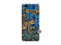 Coque Huawei Y7 2018 Leopard Jungle