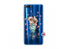 Coque Huawei Y7 2018 Puppies Love