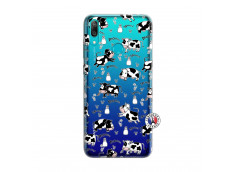 Coque Huawei Y7 2019 Cow Pattern
