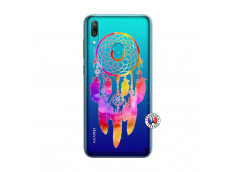 Coque Huawei Y7 2019 Dreamcatcher Rainbow Feathers