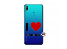 Coque Huawei Y7 2019 I Love Toulouse