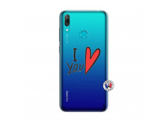 Coque Huawei Y7 2019 I Love You