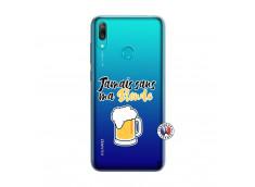 Coque Huawei Y7 2019 Jamais Sans Ma Blonde