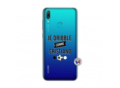 Coque Huawei Y7 2019 Je Dribble Comme Cristiano