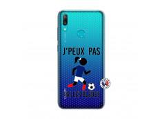 Coque Huawei Y7 2019 Je Peux Pas J Ai Les Bleues Maillot