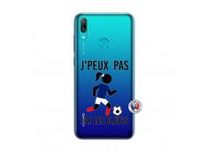 Coque Huawei Y7 2019 Je Peux Pas J Ai Les Bleues